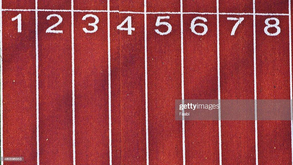 Athletic Track : Stock Photo