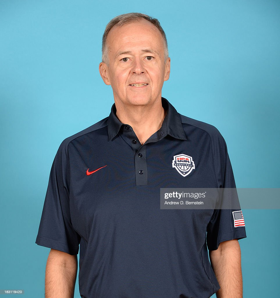 Athletic Trainer Ed Ryan poses for a head shot during the USA Womens National Team Mini-Camp on October 4, 2013 at the Cox Pavilion in Las Vegas, Nevada.
