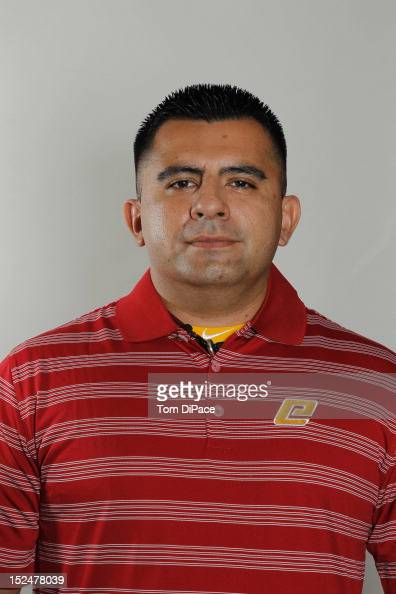 Athletic trainer Omar Uribe of Team Spain poses for a head shot for the World Baseball Classic Qualifier at Roger Dean Stadium on September 18 2012...