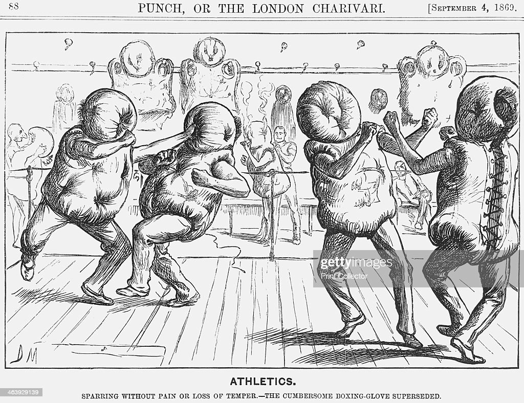 athletics u0027 1869 artist george du maurier pictures getty images