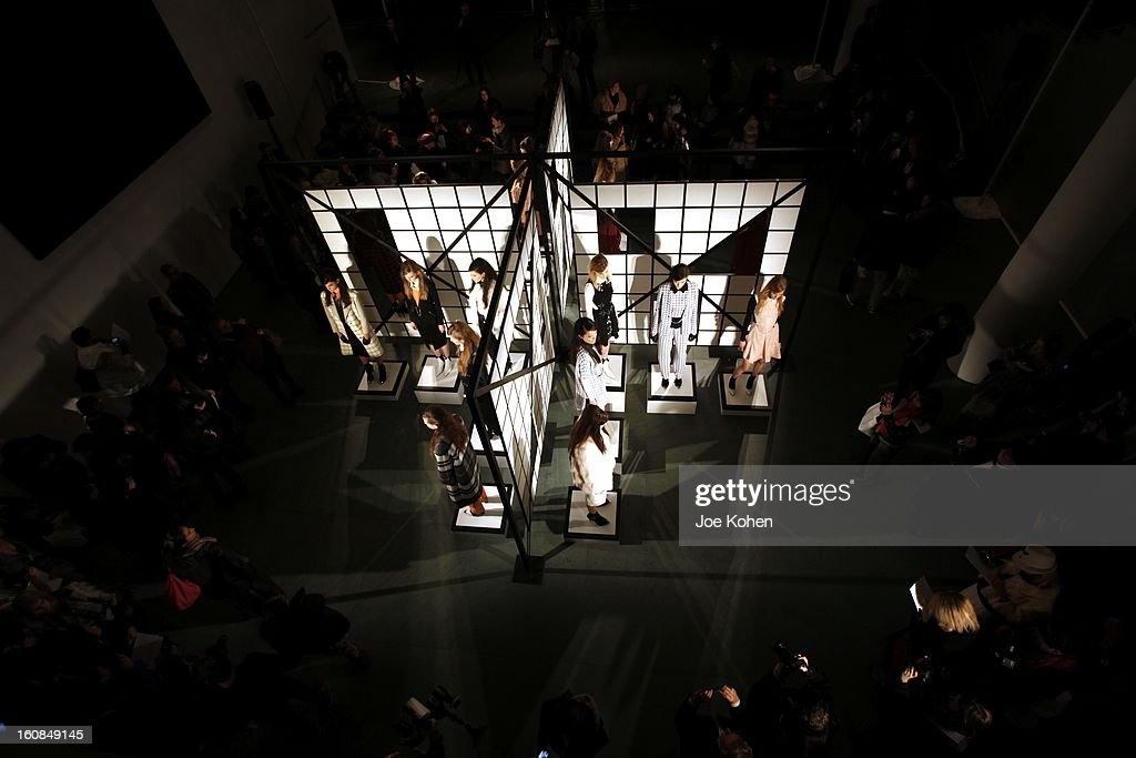 Athmosphere at the Tanya Taylor fall 2013 presentation at The Museum of Modern Art on February 6, 2013 in New York City.