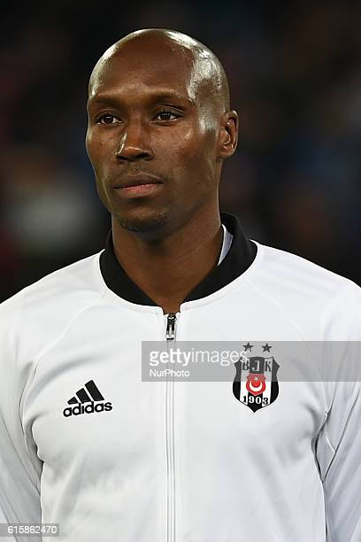 Atiba Hutchinson of Besiktas during the UEFA Champions League match between SSC Napoli and Besiktas at Stadio San Paolo Naples Italy on 19 October...