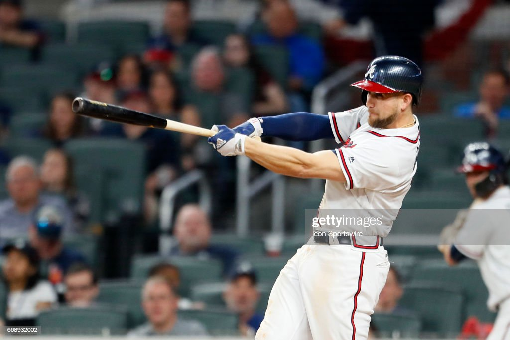 Atlanta Braves Center Fielder Ender Inciarte 11 Hits A Two Run Home In
