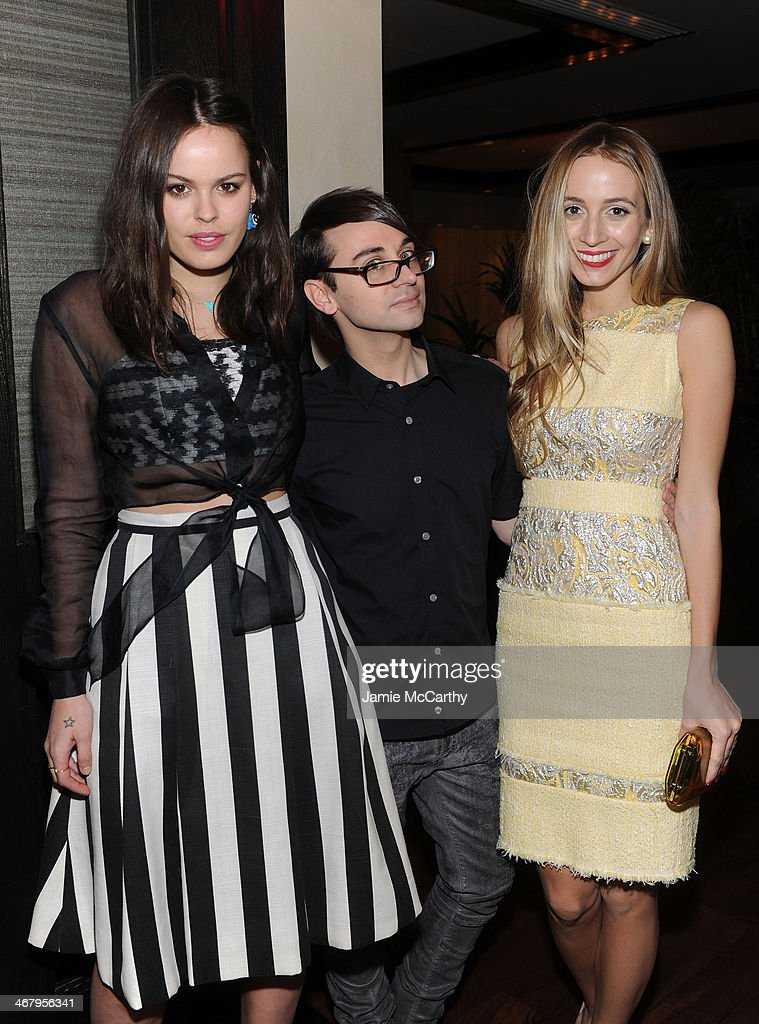 Atlanta de Cadenet Designer Christian Siriano and Harley VieraNewton attends Christian Siriano private dinner and after party during MercedesBenz...
