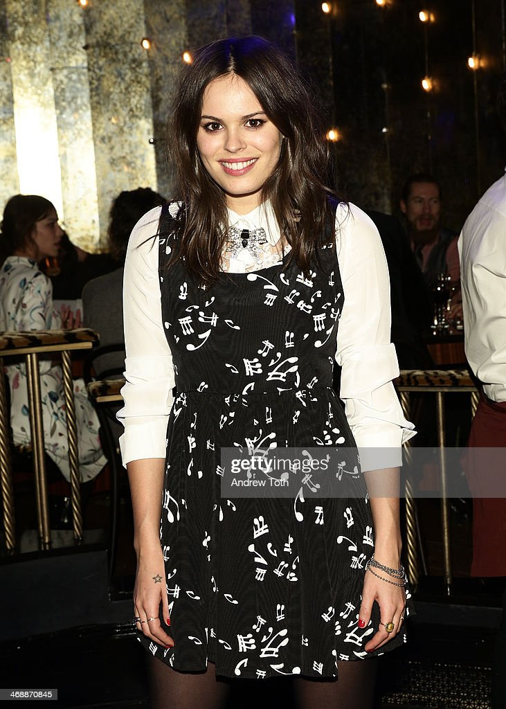 Atlanta De Cadenet wearing Miu Miu at Miu Miu Women's Tales 7th Edition - 'Spark & Light' Screening - Inside at Diamond Horseshoe on February 11, 2014 in New York City.