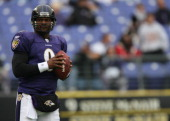 Atlanta Falcons against Baltimore Ravens Steve McNair at MT Bank Stadium in Baltimore MD on Nov 19 2006 The Ravens won 2410