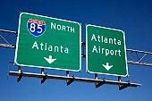 Atlanta Freeway Signs