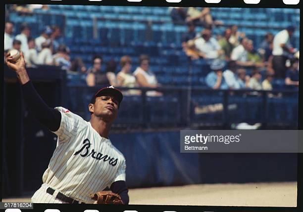 9/1969 Atlanta GA ORIGINAL CAPTION READS Atlanta Braves outfielder Felipe Alou