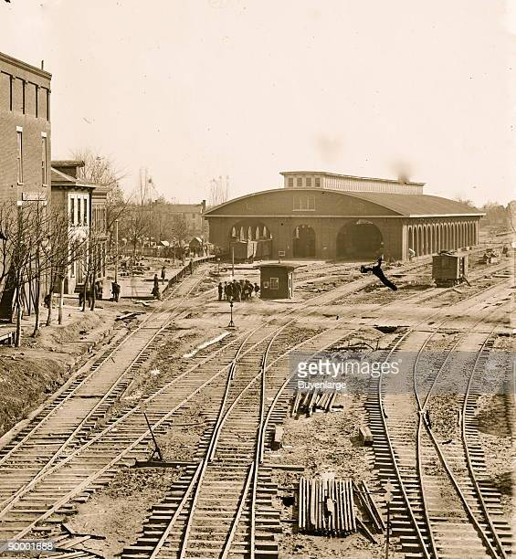 Atlanta Georgia Railroad depot
