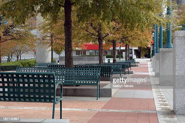 Atlanta Olympic Park bench area