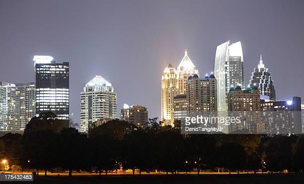 Perfil de los edificios de Atlanta