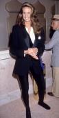 Atlantic City New Jersey April 14th 1990 Elle Macpherson at The Taj Mahal Hotel