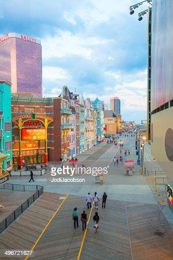 アトランティックシティ、ニュージャージーのボードウォーク