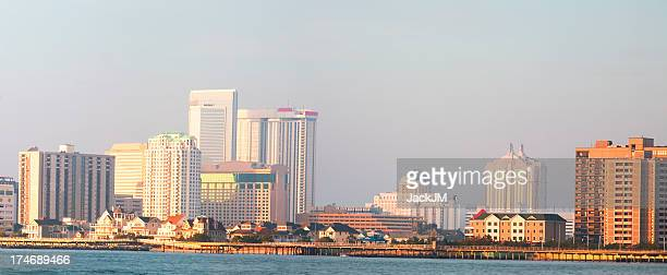 Atlantic City Panoramic At Sunrise