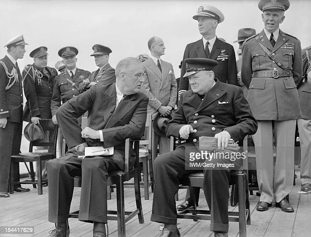 Atlantic Conference Between Prime Minister Winston Churchill And President Franklin D Roosevelt 10 August 1941 The President of the United States...