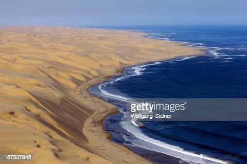 Atlantic ocean and the big dunes