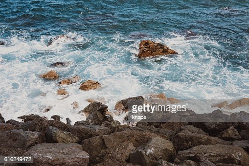 Atlantic ocean in Tenerife Spain : Foto de stock
