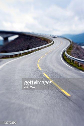 Atlantic road Atlanterhavsveien, Norway