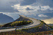 Atlantic road at the north of Norway