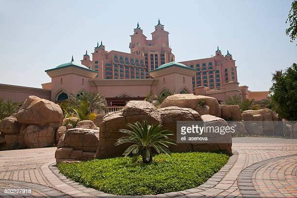 Atlantis hotel on Palm Jumeirah island, Dubai