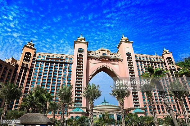 Atlantis Hôtel sur l'île Palm Jumeirah, Dubaï