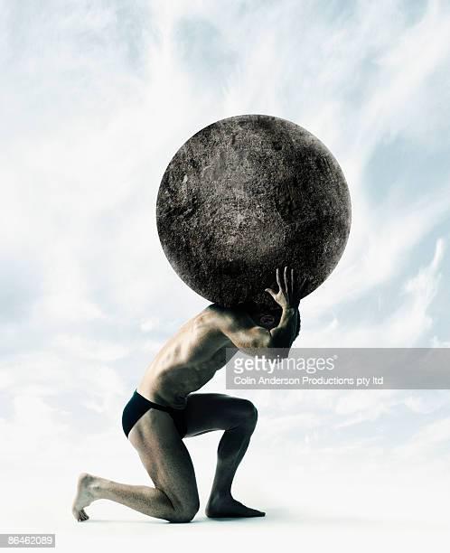 Atlas holding world