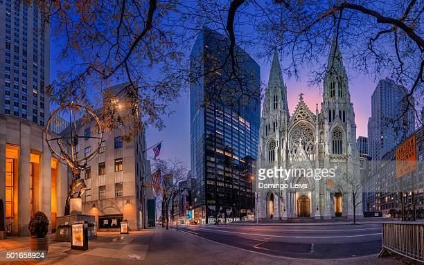 Atlas, St Patrick's Cathedral, New York City, U