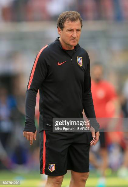 Atletico Madrid Assistant Coach Juan Vizcaino