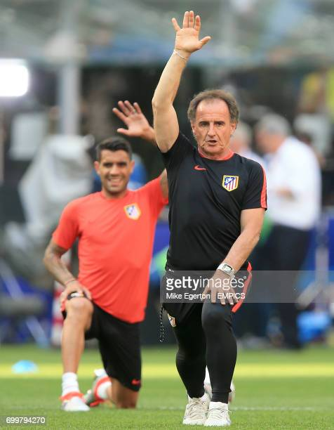 Atletico Madrid fitness coach Oscar Ortega