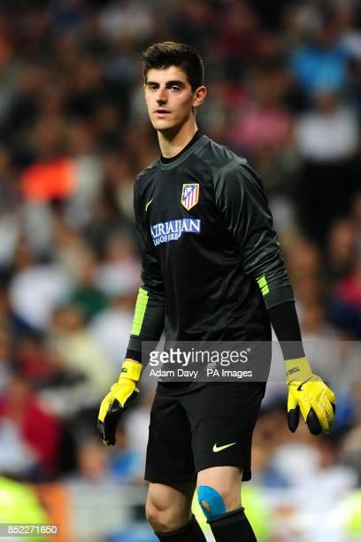 Atletico Madrid goalkeeper Thibaut Courtois