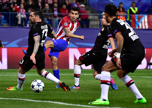 FBL-EUR-C1-ATLETICO-LEVERKUSEN : News Photo
