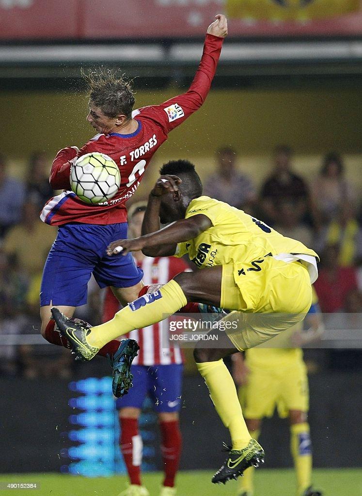 Villarreal cf v club atletico de madrid la liga getty - Bally madrid ...