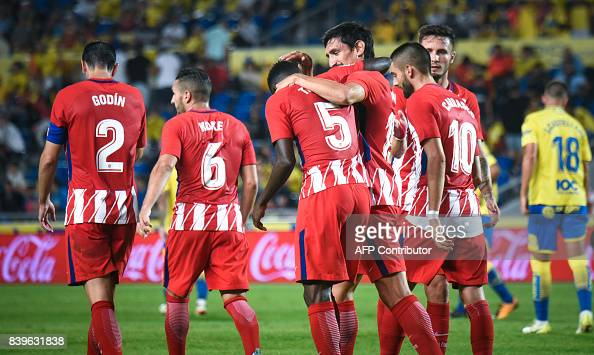 FBL-ESP-LIGA-LASPALMAS-ATLETICO : News Photo