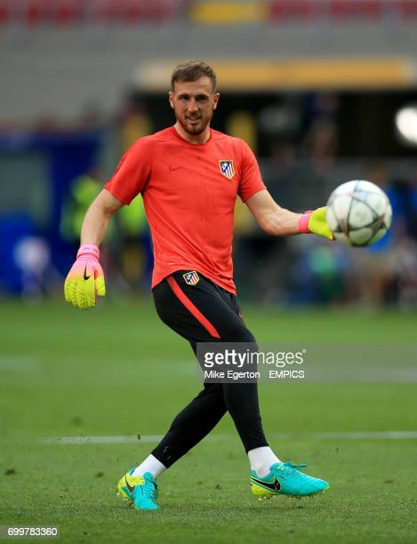 Atletico Madrid's goalkeeper Jan Oblak