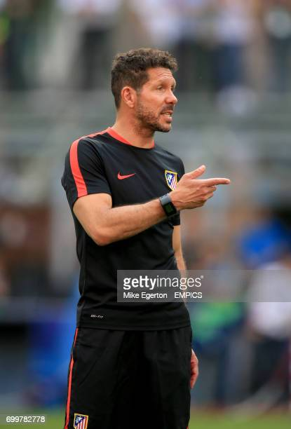 Atletico Madrid's manager Diego Simeone
