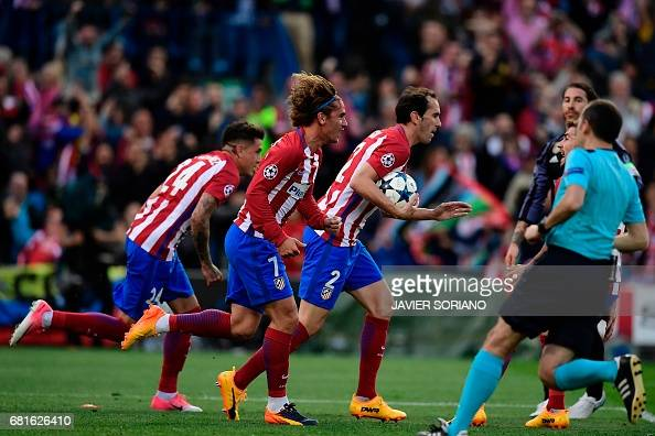FBL-EUR-C1-ATLETICO-REALMADRID : News Photo