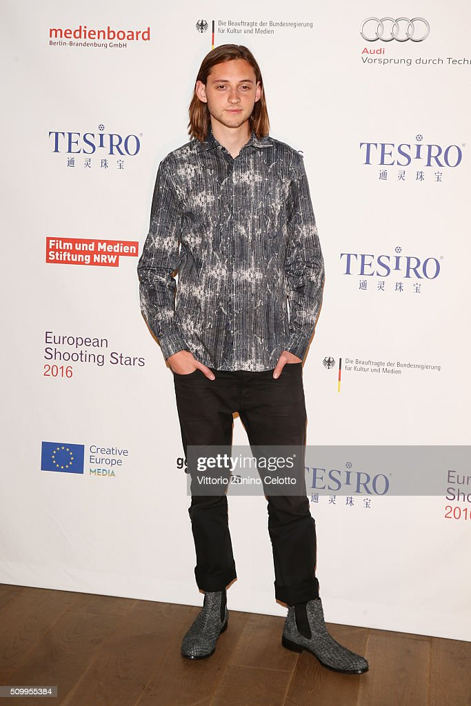 Atli Oskar attends the Shooting Stars 2016 photo call in cooperation with L'Oreal during the 66th Berlinale International Film Festival Berlin at 25hours Hotel on February 13, 2016 in Berlin, Germany.