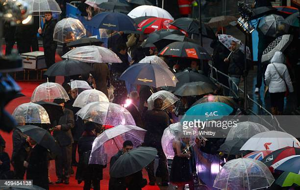 Atmospehere at the World Premiere of 'Paddington' at Odeon Leicester Square on November 23 2014 in London England