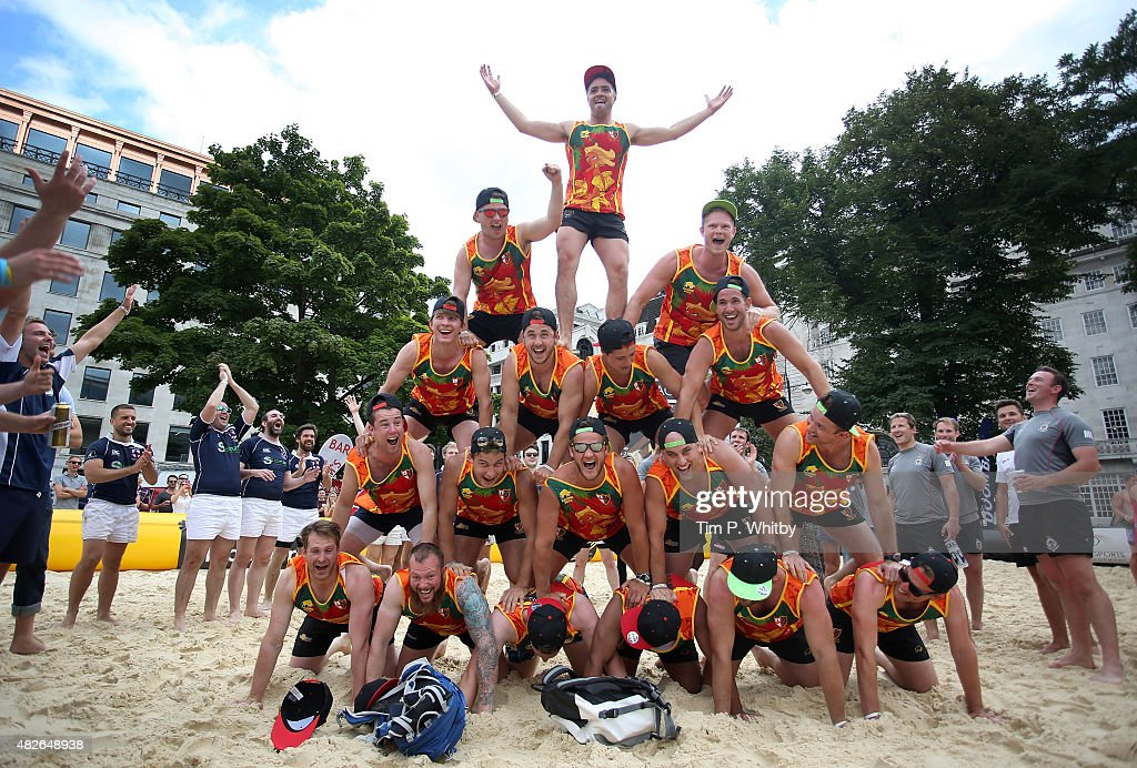 Atmospehre at London Beach Rugby 2015, a two day touch rugby event in ...