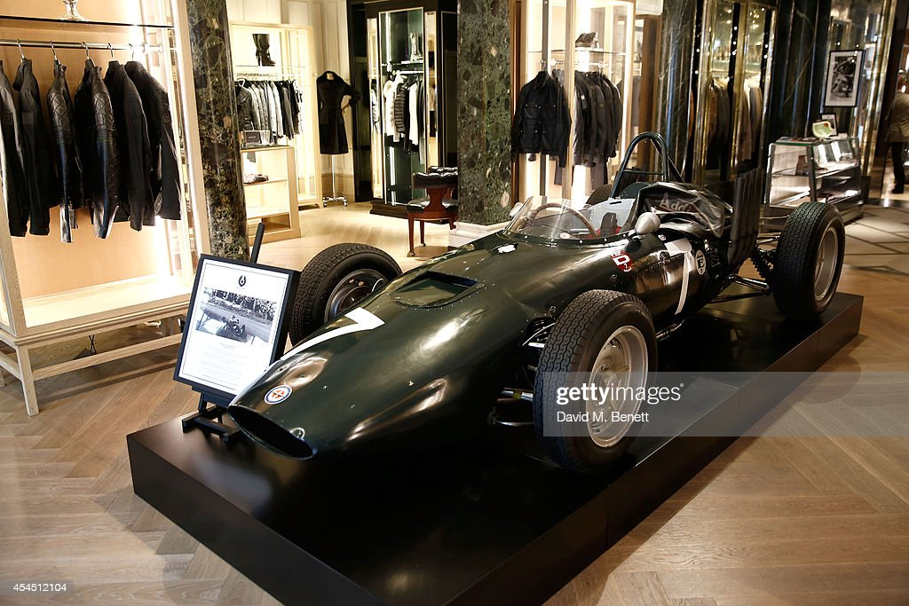 Atmosphere a cocktail reception to celebrate the new Belstaff by Goodwood racing jacket capsule collection at Belstaff House New Bond St on September...