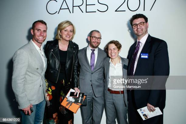 Atmosphere after the Jeffrey Fashion Cares showat Intrepid SeaAirSpace Museum on April 3 2017 in New York City
