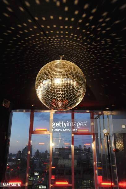 Atmosphere and Disco Ball attend SALVATORE FERRAGAMO ATTIMO Launch Event at The Standard Hotel on June 30 2010 in New York City
