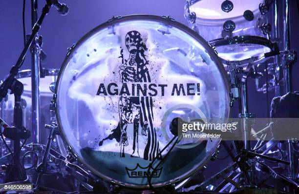 Atmosphere as Against Me performs in support of the band's 'Shape Shift with Me' release at Ace of Spades on September 12 2017 in Sacramento...