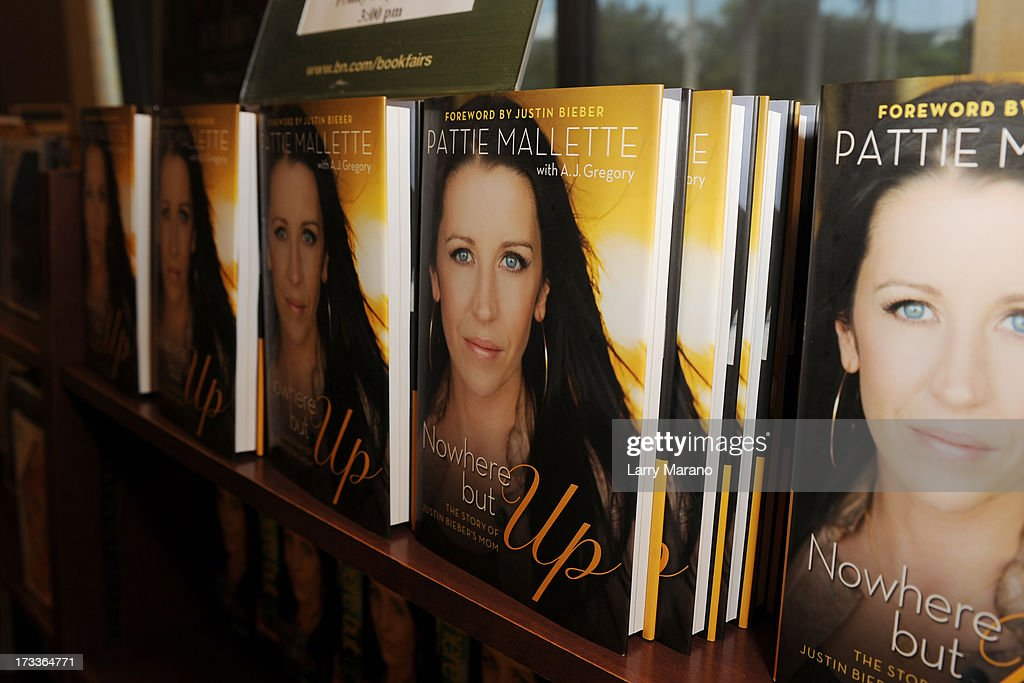 Atmosphere as Pattie Mallette signs copies of 'Nowhere But Up' at Barnes & Noble on July 12, 2013 in Fort Lauderdale, Florida.