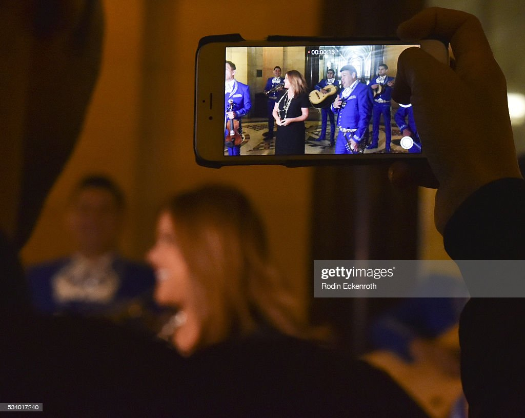 Atmosphere as seen at The City of Los Angeles Honors <a gi-track='captionPersonalityLinkClicked' href=/galleries/search?phrase=Maria+Celeste+Arraras&family=editorial&specificpeople=221494 ng-click='$event.stopPropagation()'>Maria Celeste Arraras</a> at Los Angeles City Hall on May 24, 2016 in Los Angeles, California.
