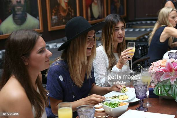 Atmosphere as seen during the Hearts On Fire x ChapStick Blogger Brunch At Fashion Week at Hotel on Rivington on September 11 2015 in New York City