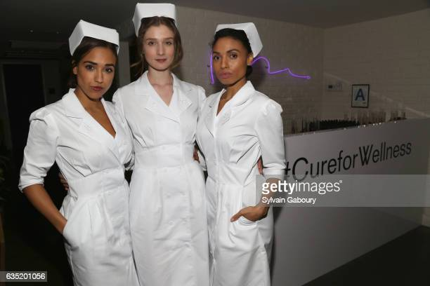 Atmosphere at 20th Century Fox and Prada Host the After Party for 'A Cure for Wellness' at Mr Purple at the Hotel Indigo LES on February 13 2017 in...