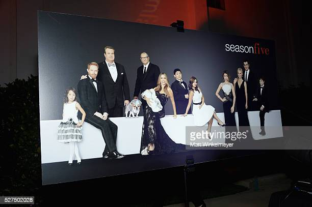 Atmosphere at ABC's 'Modern Family' ATAS Emmy Event After Party at Fox Studios on May 2 2016 in Los Angeles California