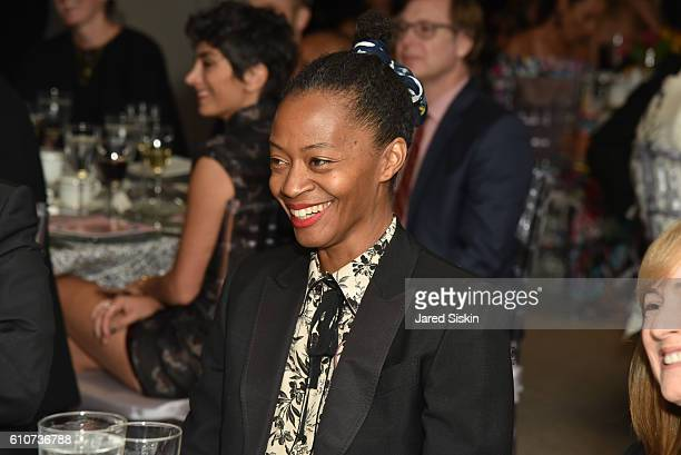 Atmosphere at Abstracted Black Tie Dinner Hosted by Pamela Joyner Fred Giuffrida and the Ogden Museum of Southern Art to Celebrate the Artists and...