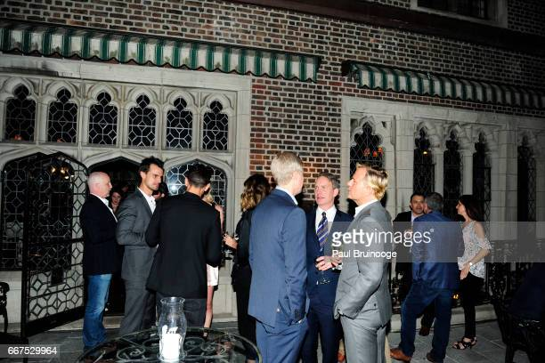 Atmosphere at Amazon Studios Bleecker Street Host the After Party for 'The Lost City of Z' at The Explorer's Club on April 11 2017 in New York City